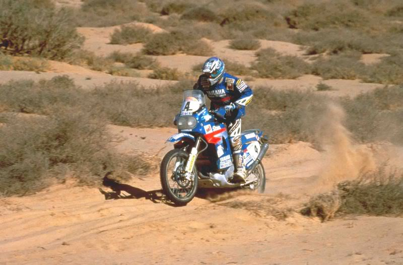 DAKAR 1995 PETERHANSEL 3