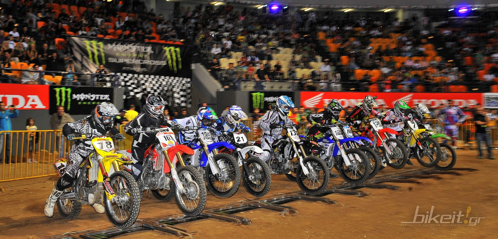 Monster Energy Athens Supercross 2011 – 1η μέρα