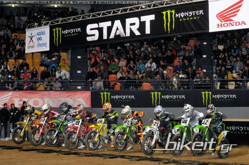 Monster Energy Athens Supercross 2012, 1η μέρα