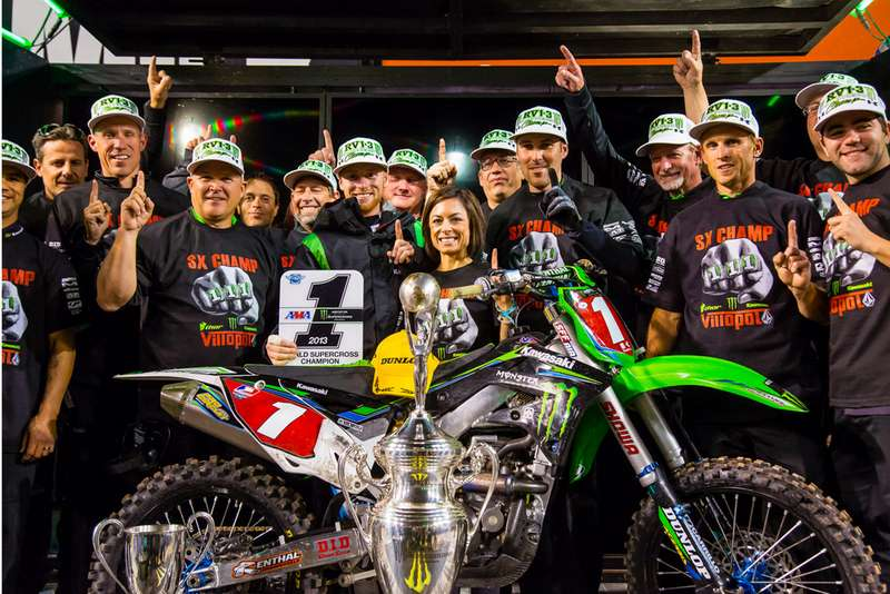 AMA Supercross 2013, 16ος αγώνας, Salt Lake City