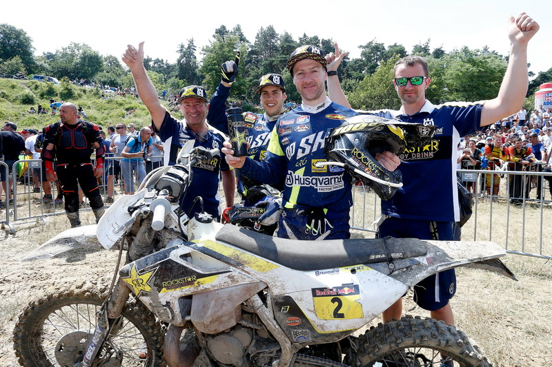 23620 Graham Jarvis Mechanics Husqvarna TE 300 Romaniacs 2016