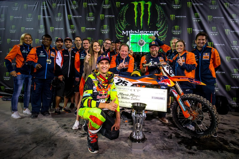 Monster Energy Cup: O Marvin Musquin κέρδισε 1 εκατομμύριο δολάρια!