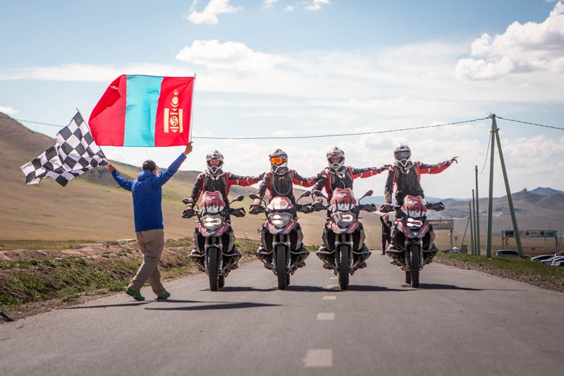 BMW Motorrad International GS Trophy Central Asia 2018, Hμέρες 6-7-8