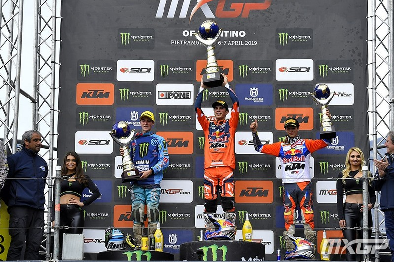MX2 PODIUM MOTOCROSS GP 4 TN 2019