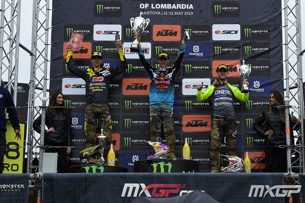 MX2 PODIUM MOTOCROSS GP 5 LOM 2019
