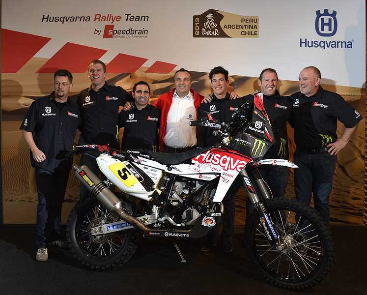Husqvarna Rally Dakar Team 2013
