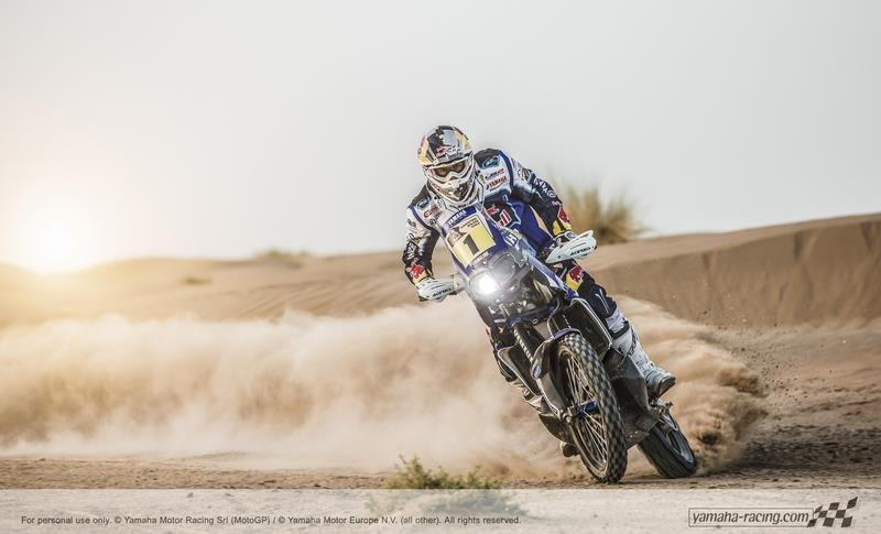Yamaha YZ450F Rally 2014 - ''Cyril Despres''