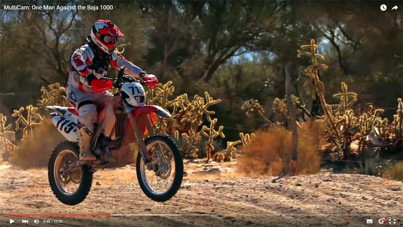 One man Against the Baja 1000 - Video