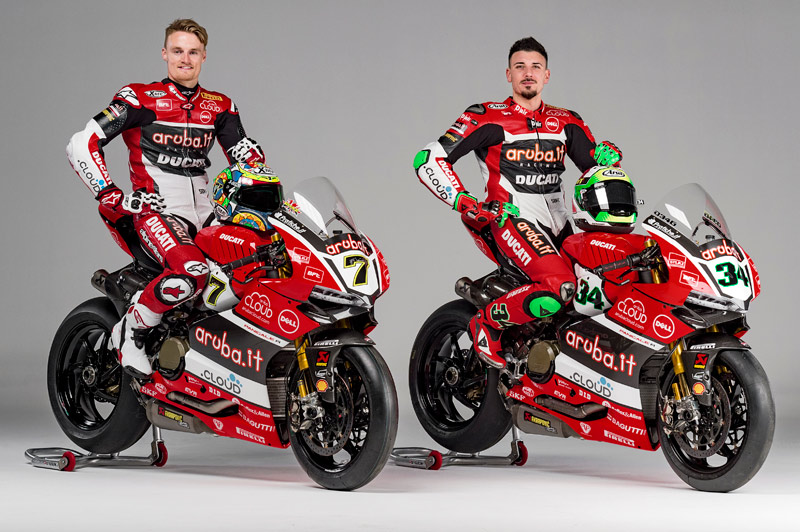 Παρουσίαση Aruba.it Racing – Ducati Team