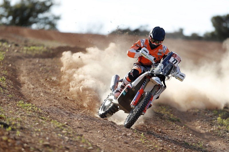 Luciano Benavides KTM Rally Factory Racing Team shooting 2018