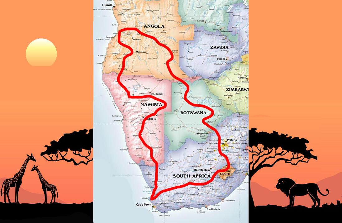 Γεννηθείς και πάλι με τη Νότια Αφρική