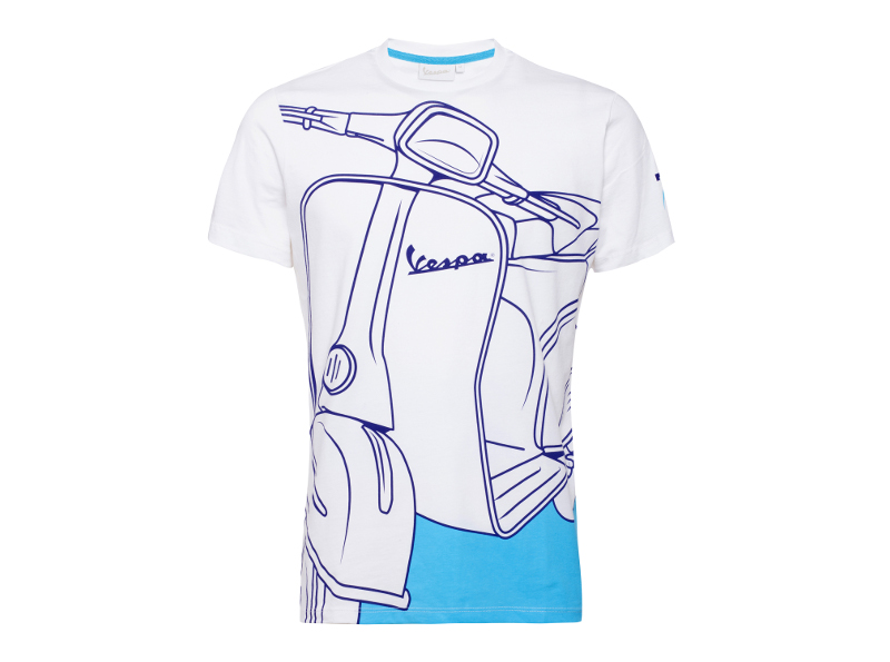 Vespa: T-Shirt '70 Years Young'