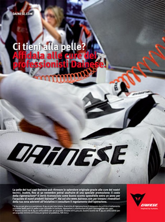 Dainese – Save your Skin