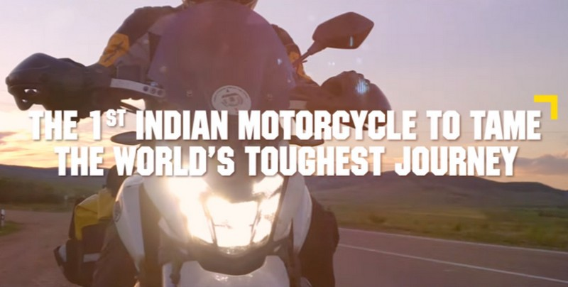 Bajaj Dominar Trans-Siberian Odyssey - Video