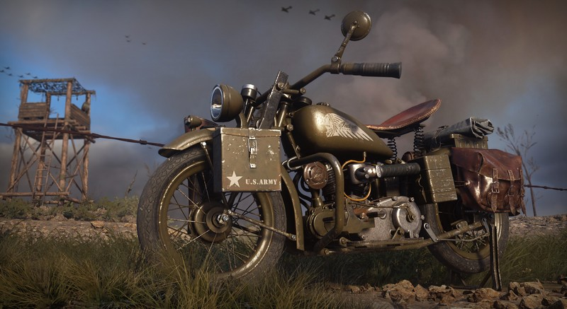 H Indian Scout 741B στο Call Of Duty WWII