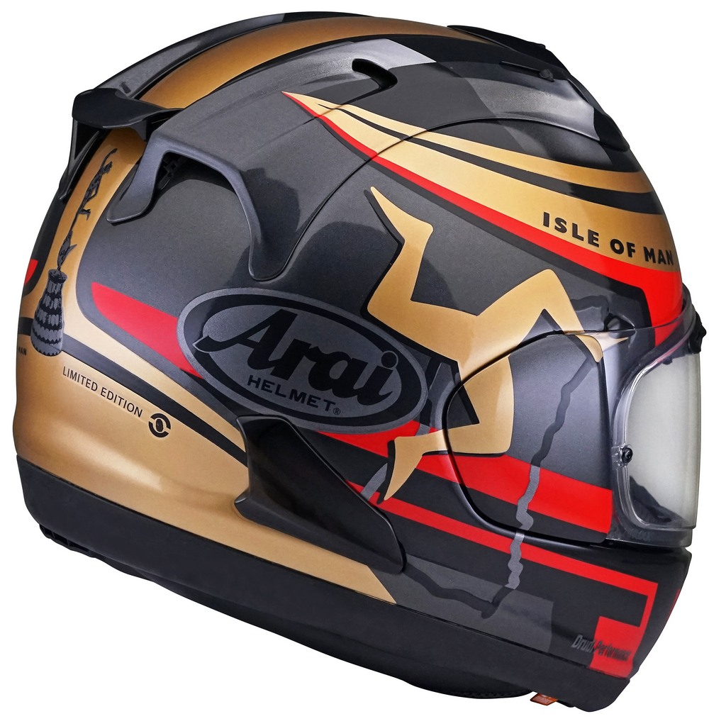 Arai RX 7X Isle of Man TT 2020 6