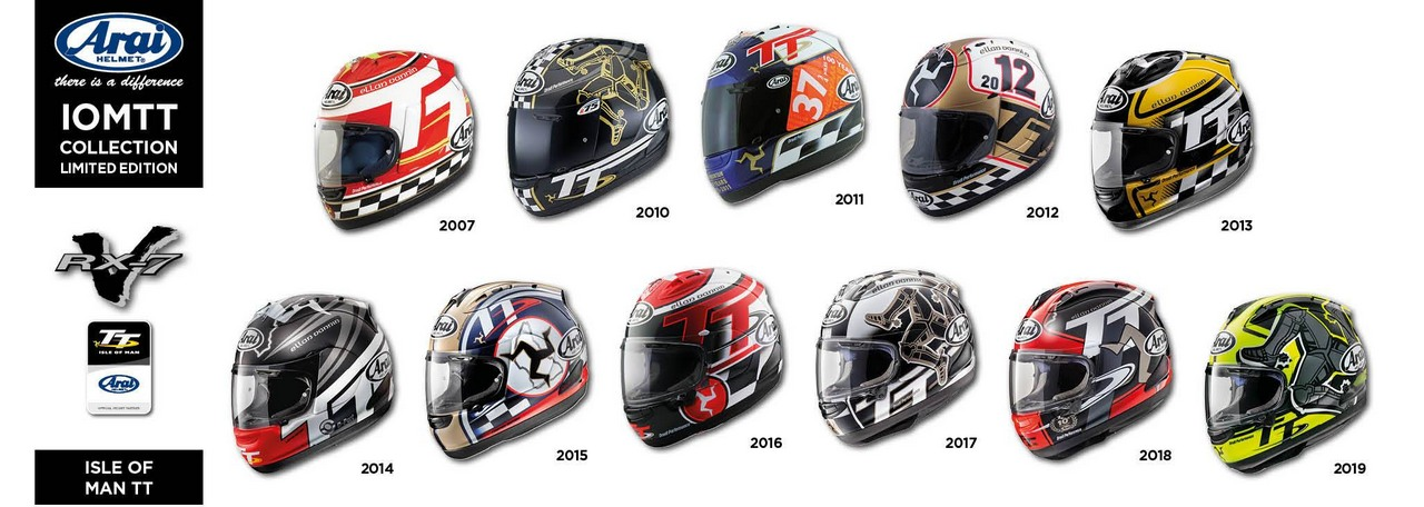 Arai RX 7X Isle of Man TT 2020 2