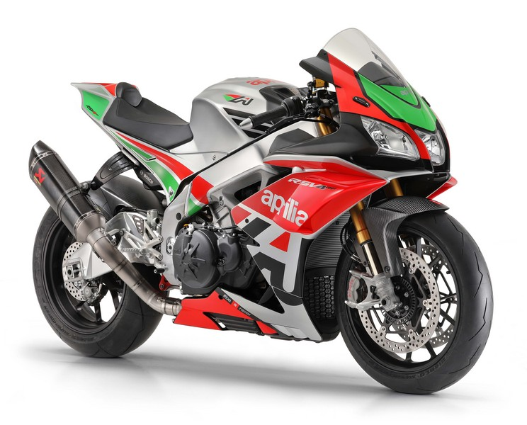 EICMA 2017 - Aprilia Racing Factory Works kit 2018
