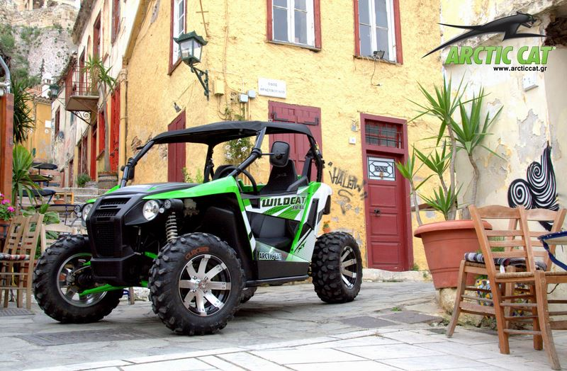 Arctic Cat Wildcat Trail XT 700 - 2015