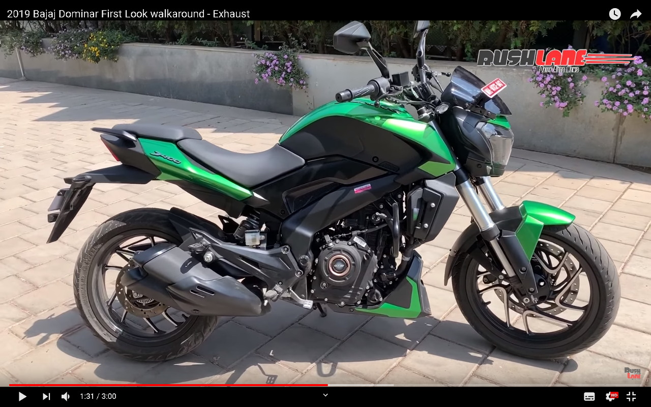 Bajaj Dominar 400 2019 - Walkaround video
