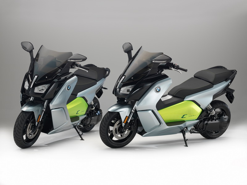 Ανανεωμένο BMW C evolution e-scooter