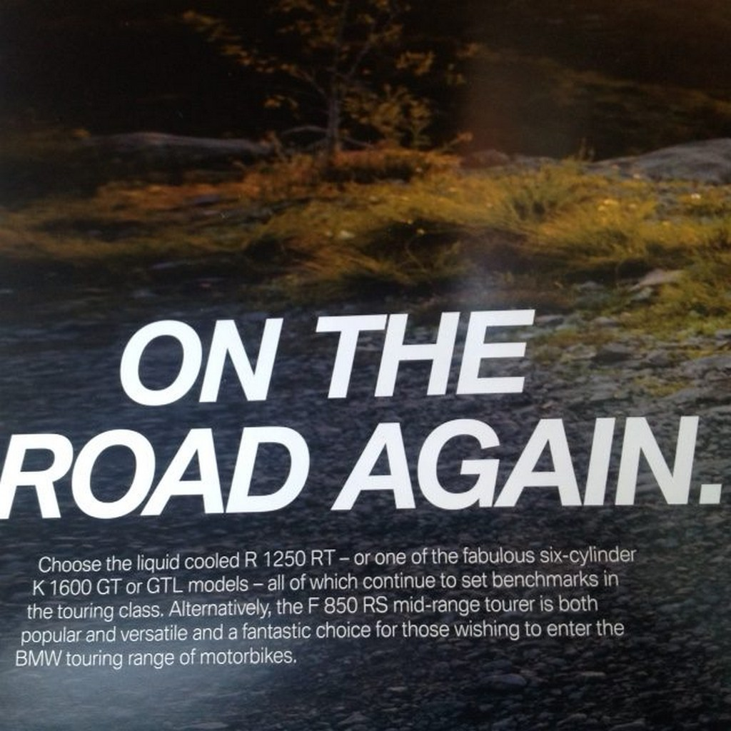 BMW F850 RS Brochure 1