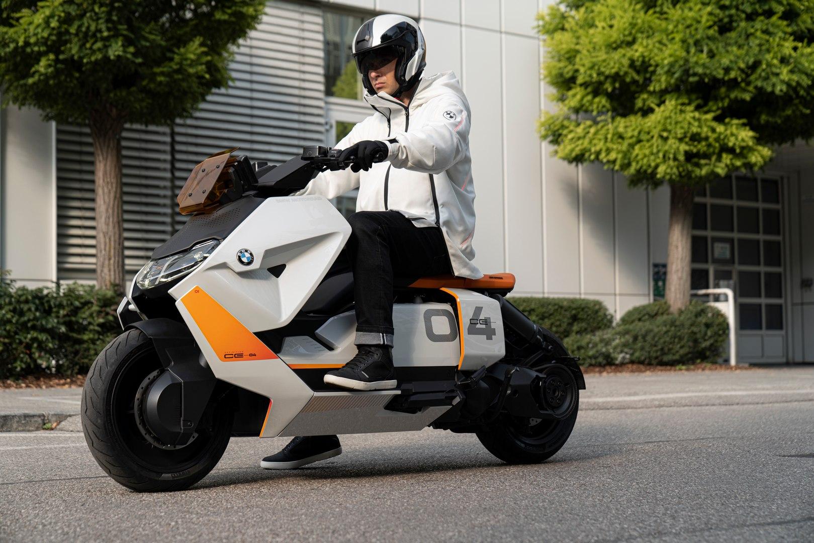 BMW Motorrad Definition CE 04 - Νέο ηλεκτρικό scooter ετοιμάζεται για παραγωγή - BIKEIT!