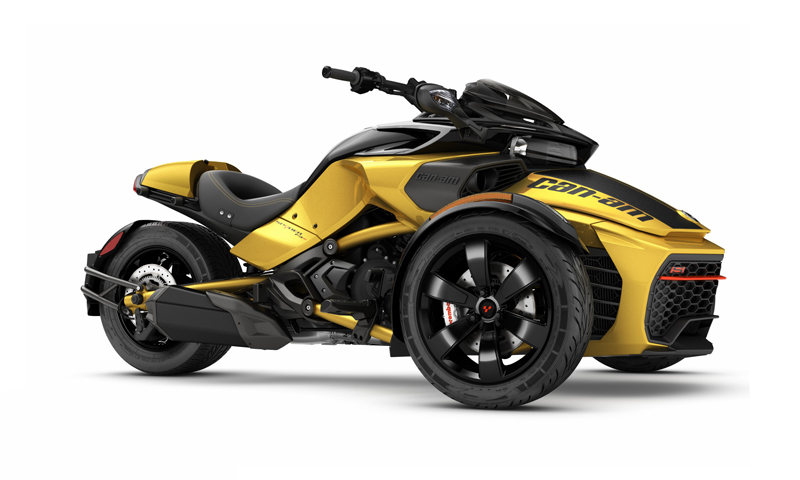 Can-Am Spyder F3-S 2017. Τώρα και με Drift Mode!