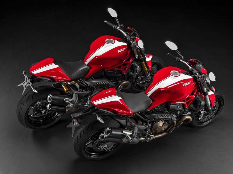 Ducati Monster 821 – Monster 1200S – Stripe 2015