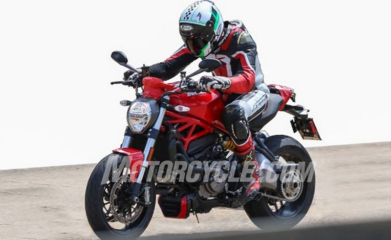 Ducati Monster 939 & 1200... Strada 2017: Spy Pics