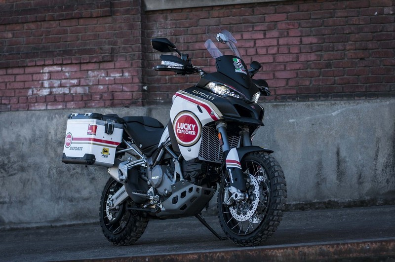 "Ducati Multistrada 1200 Enduro ""Lucky Strike"""
