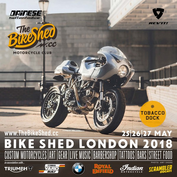 Bike Shed London 2018 Square