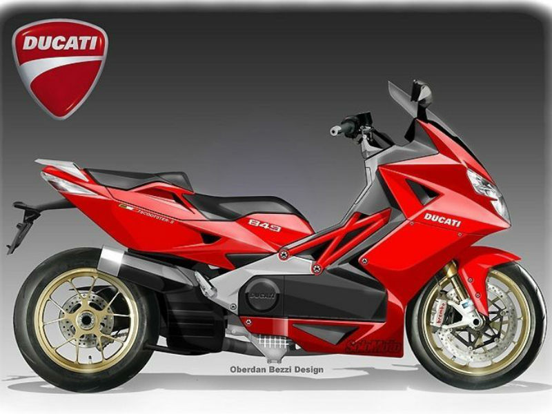 ducati scooter electric