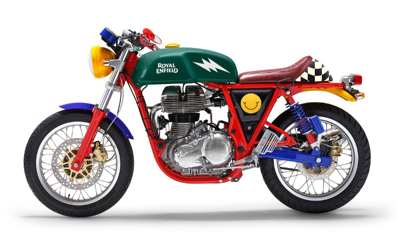 Royal Enfield Continental GT Happy Socks