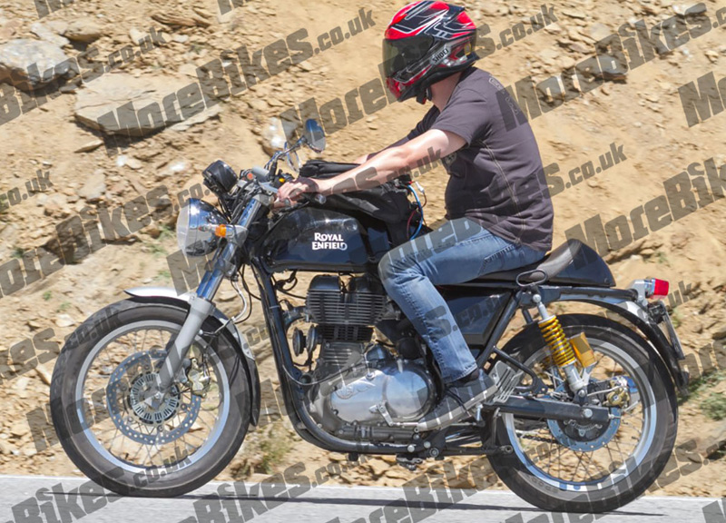 Royal Enfield Continental GT 2017 - Spy Pics