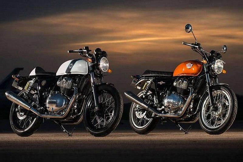 EICMA 2017 - Royal Enfield Interceptor & Continental GT