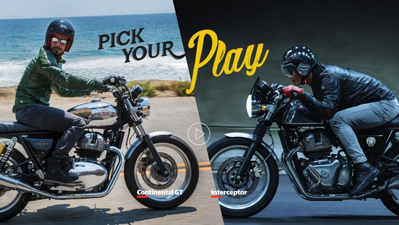 Royal Enfield Continental GT 650 & Interceptor 650 – Video
