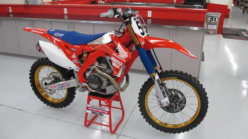 Honda CRF 450R – 40th Anniversary