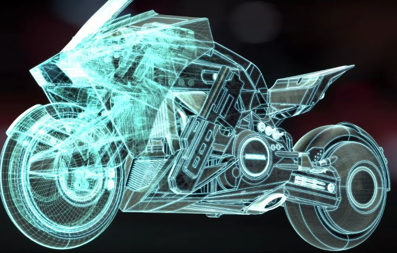 Honda NM4 Vultus & Ghost in the Shell - Video