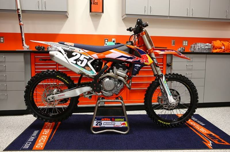 KTM SX-F 250/450 Factory Edition 2015