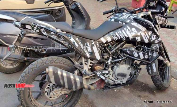 ktm 390 adventure spied india first time launch 3