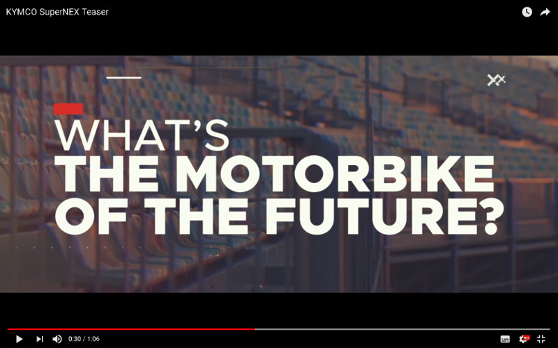 KYMCO SuperNEX Teaser - Video