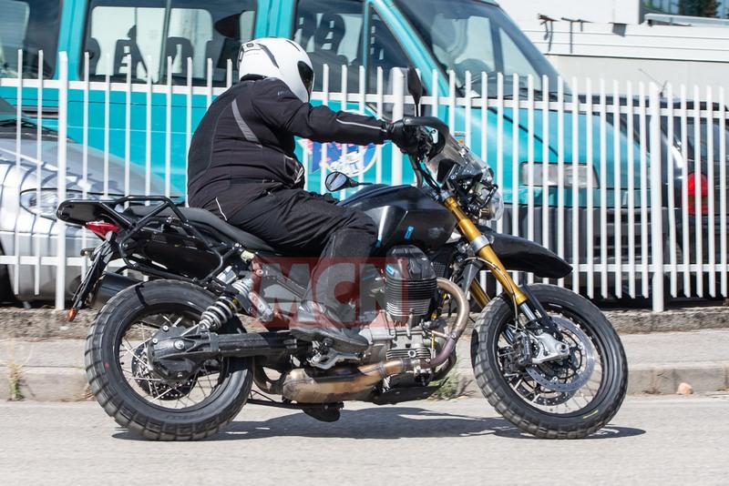 moto guzzi v85 spy pics 4