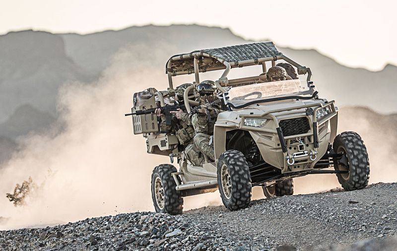 Polaris Defense MRZR-D4 Turbo Diesel!