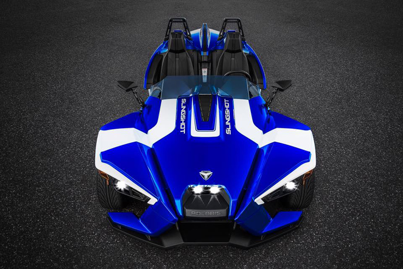 Polaris Slingshot Blue Fire