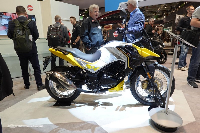 SYM NH-X & NX-T 125 – Intermot 2018