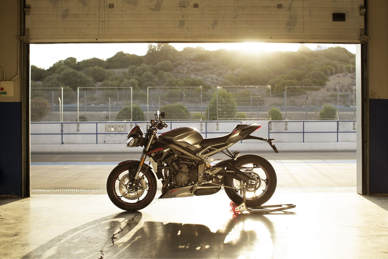 New Street Triple RS Static Location 1