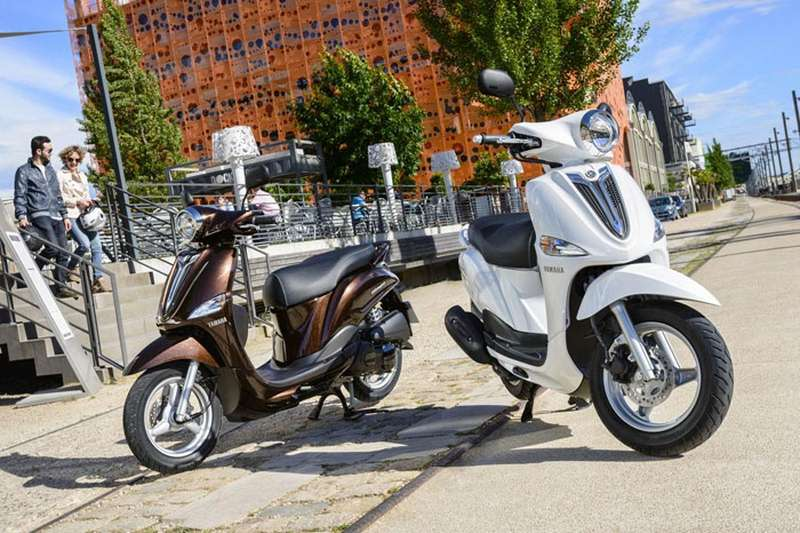 Νέο scooter Yamaha D'elight 114 κυβικά - 2014