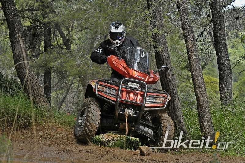 Test – Arctic Cat TRV 550 XT 2014