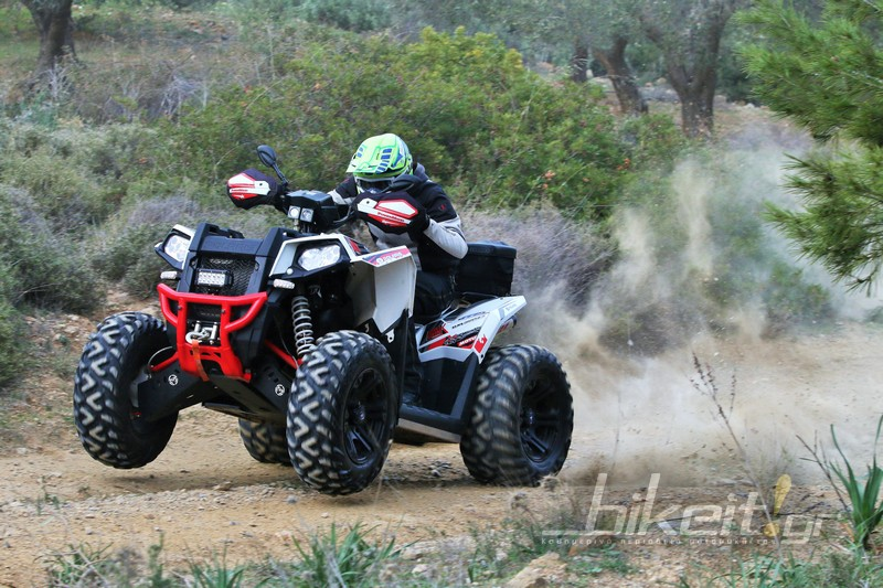 TEST - Polaris Scrambler XP 1000 2018 Εuro 4